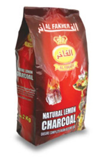 AL FAKHER NATURAL LEMON CHARCOAL 2kg